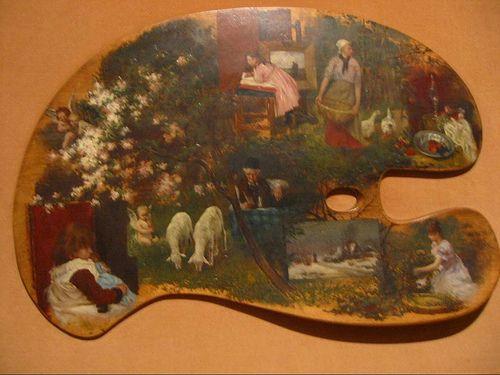 Germán Gedovius: Paleta fantasía, Museo Nacional de Arte, National ...: