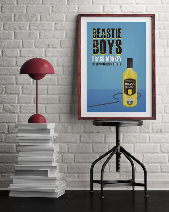Original Print Inspired by The Beastie Boy's Brass by StudioMaxe