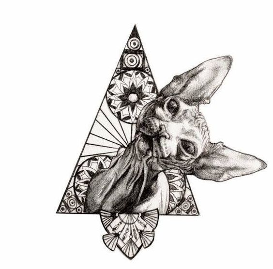 SPHYNX tattoo idea