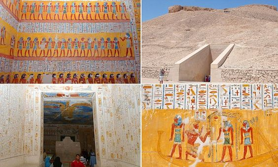 Inside pharaoh Ramesses' royal tomb 3,000 years after its creation