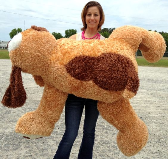big plush personalized giant teddy bears and custom large stuffed animals giant stuffed saint. Black Bedroom Furniture Sets. Home Design Ideas