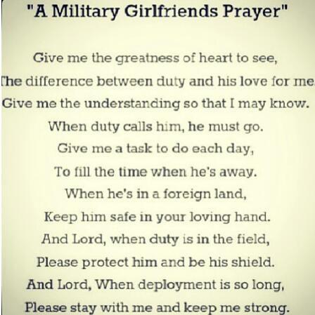 national guard girlfriend; i may need this soon.. so inspirational!