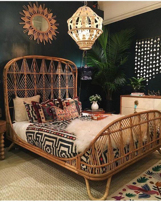 Beautiful Eco-sense decor for your bedroom! #ecological #sense #decor #bedroom #beautiful #bamboo #furniture