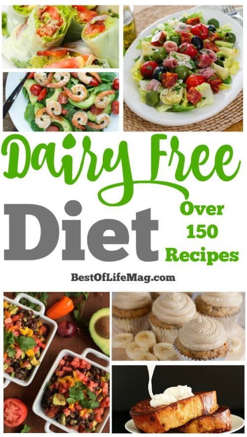 Take control of your dairy free diet with the ultimate list of recipes for every meal of the day!
