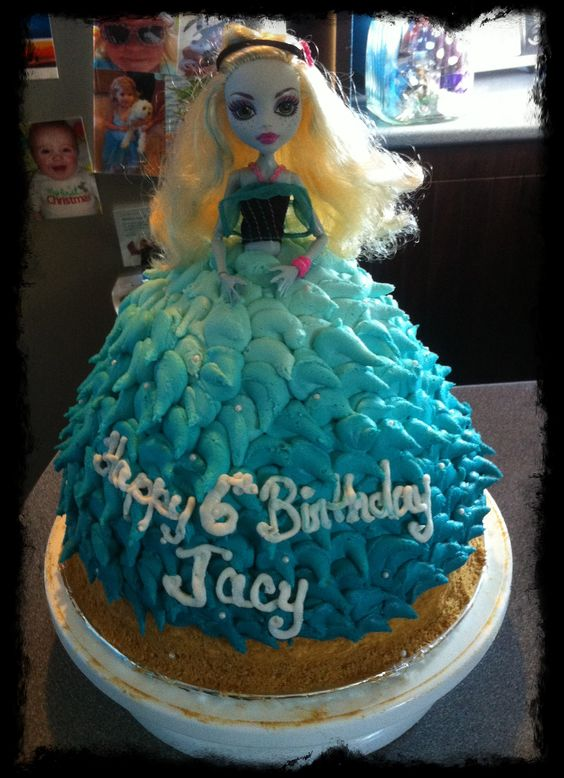 Lagoona Blue, Monster High birthday cake