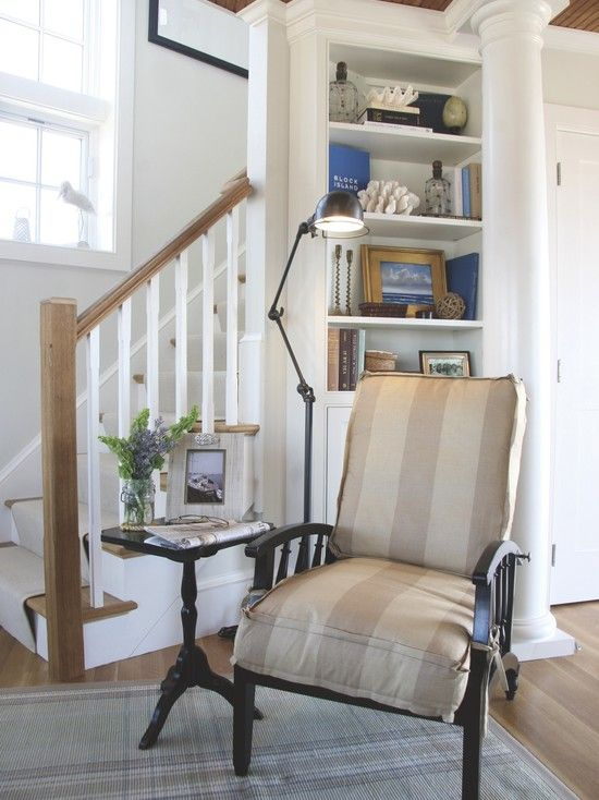 Living Room Corner Staircase Design, Pictures, Remodel, Decor and Ideas