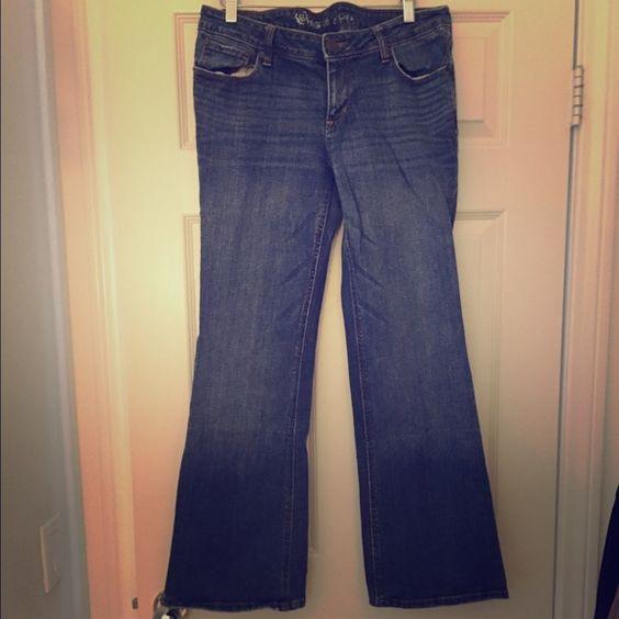 [Pacsun] Flare Jeans [Pacsun] Flare Jeans / Size: 13 Reg / 99% Cotton + 1% Spandex / Used PacSun Jeans Flare & Wide Leg