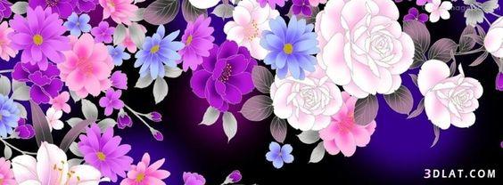 عالمك غلاف فيس بوك على شكل ورود قمة فى الروعة Floral Flowers Floral Wreath