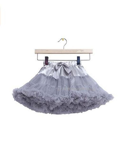 Botong Christmas Girl's Dress Up Fairy Princess Party Tutu Petticoat Skirts Grey. Material: Tulle. Size:one size fit all,Waist: 50-80 cm, Length: 40 cm. There will be a little difference on the color due to the lights and screen,hope you can understand. Wash way: hand wash. Occasion: Christmas. Party Day.