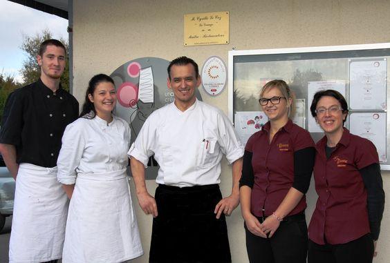 Le Restaurant, La Grange à La Forêt Fouesnant, défend le métier d'artisan restaurateur.