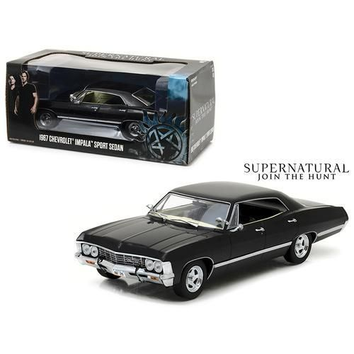 1967 Chevrolet Impala Sports Sedan Black Supernatural 2005 Tv Seri Spotshoppingspree Chevrolet Impala Sport Supernatural