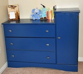 great changing table redo! superstinkyboys.blogspot.com