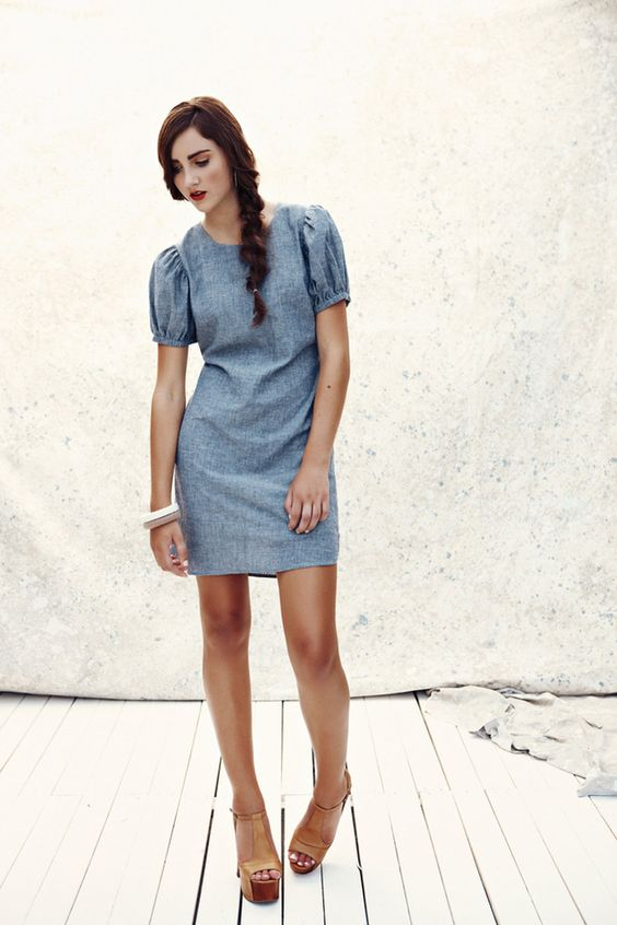 Troubadour dress.