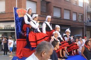 El tapin Desfile de carrozas Lugo Llanera