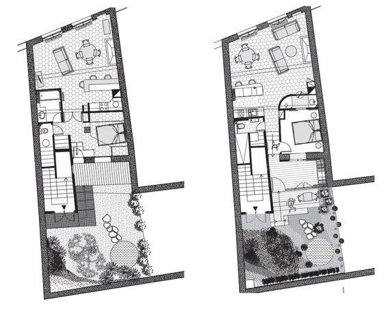Appartement paris 5 un 58 m2 r nov avec jardin de 42 m2 for Appartement paris jardin