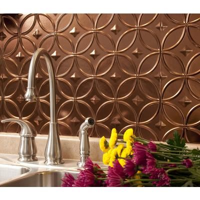 bronze backsplash 18x24 decorative thermoplastic backsplash panels