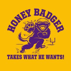 Gold Original Honey Badger Takes What He Wants T-Shirt