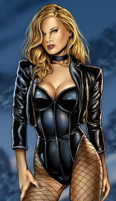 Sexy Black Canary Pictures | Sexy, Choker and Pictures
