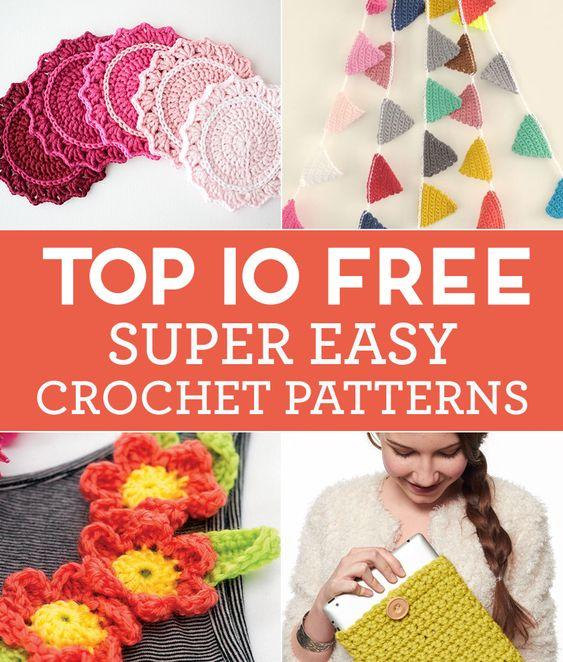 Top 10 GRATIS de Super Modelos Fácil Crochet