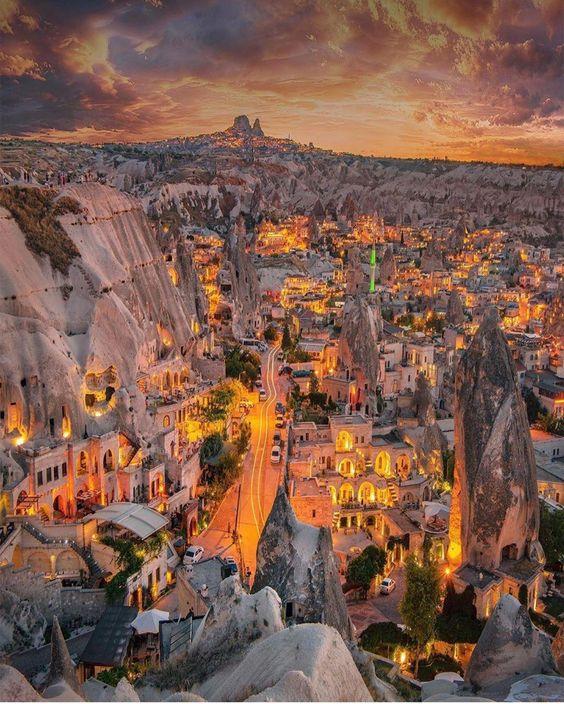 Cappadocia Turkey #city #cities #buildings #photography