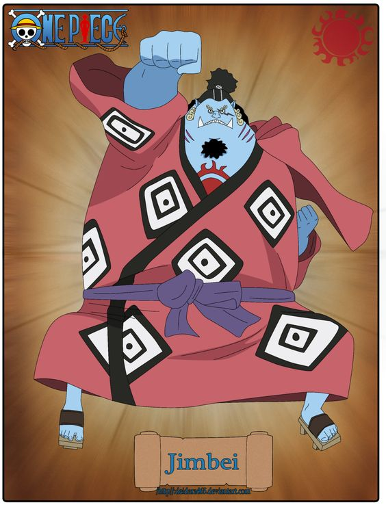 One Piece | Poses | Jimbei/Jinbei | by Deidara465.deviantart.com on @DeviantArt