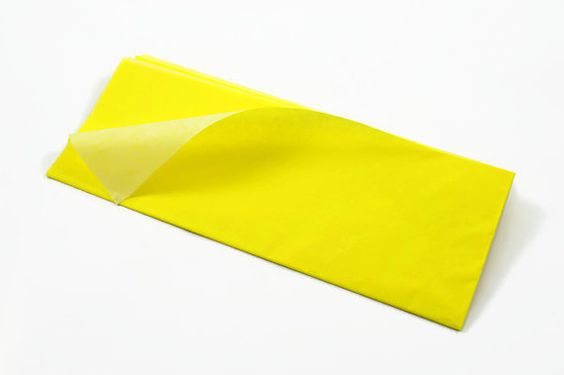 Is fluorescent contained in tissue papers?