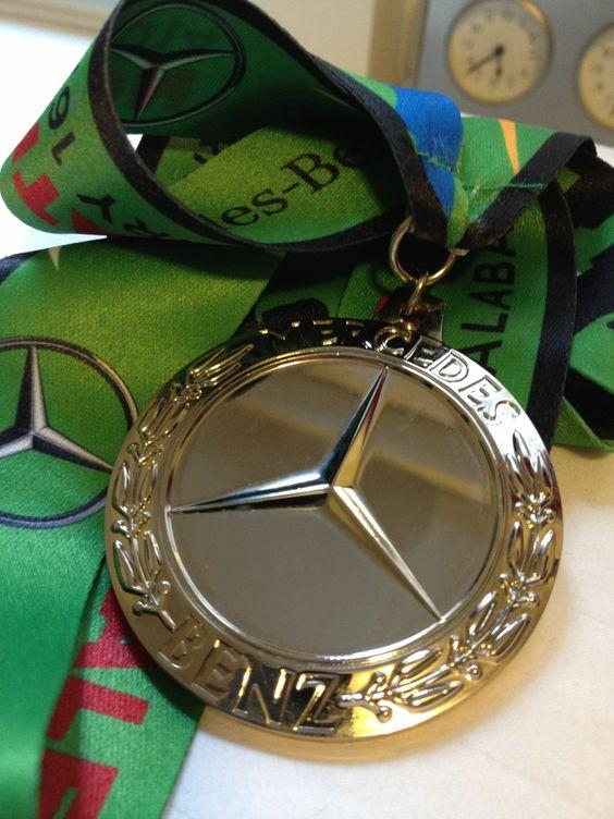 Mercedes half marathon in birmingham alabama i was for Mercedes benz half marathon