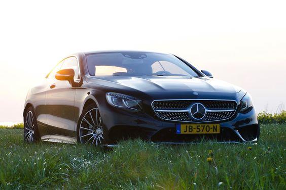Fotograaf Jesper van der Noord legde de Mercedes-Benz S 400 Coupé vast in een heerlijk avondzonnetje.