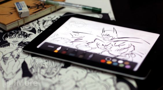 Paper by fiftythree - drawing app for creative minds