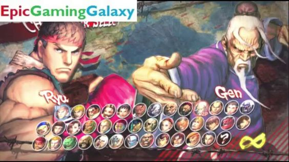Gen VS Ryu In A Super Street Fighter IV Arcade Edition Match / Battle / Fight This video showcases Gameplay of Gen VS Ryu In A Super Street Fighter IV Arcade Edition Match / Battle / Fight