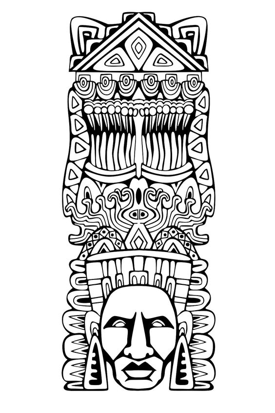 free inca coloring pages - photo#5