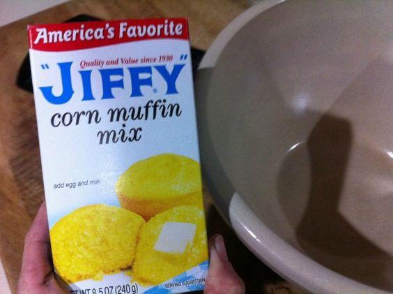 Shortcut Jalapeno and Cheese Corn Muffins! So incredibly good!
