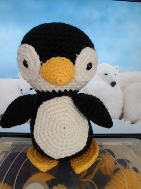 Tutorial Amigurumi Pinguino : Dr who sons and cute penguins on pinterest