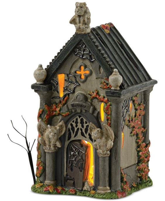 Department 56 Halloween Village Collection Haunted Crypt
