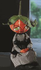 Gretzy Pumpkin Girl