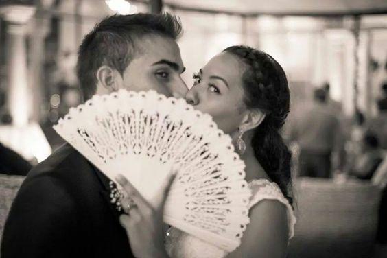 #abanico #boda