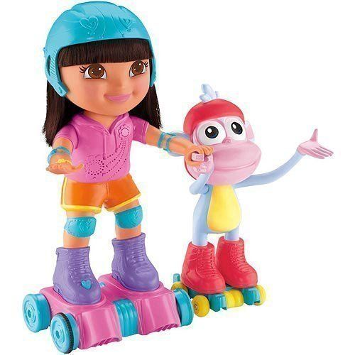 Fisher-Price Roller Skating Dora the Explorer and. Toys. Playsets.