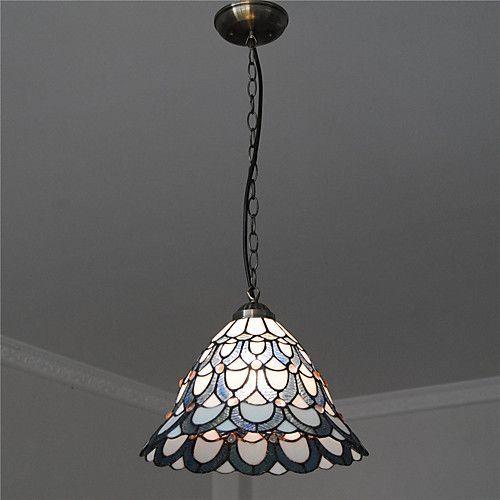 Diameter 30cm Tiffany Pendant Lights Glass Lamp Shade Living Room Bedroom Dining Room Light Fixture 2 Wall Lamp Shades Pink Lamp Shade Contemporary Lamp Shades