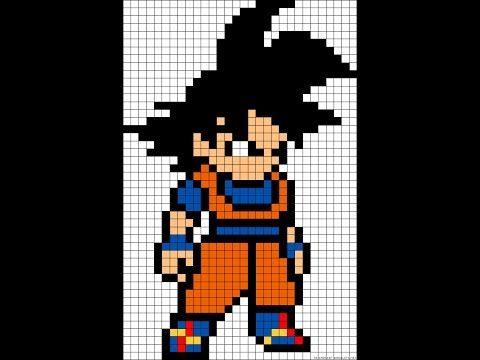 Resultat De Recherche D Images Pour Pixel Art Pixel Art Dragon Ball Pixel Art Pixel Art Dragon