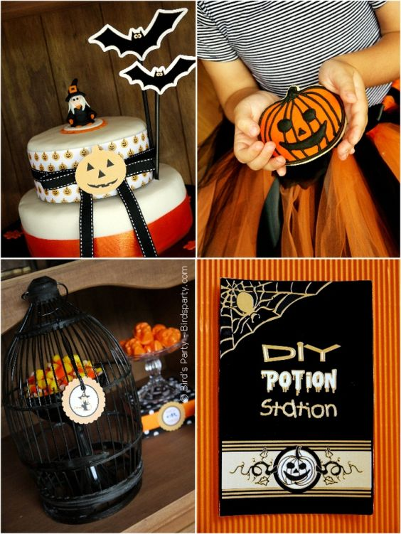 Halloween Party Ideas Party planning, Wicked witch and Party - halloween party decorations diy