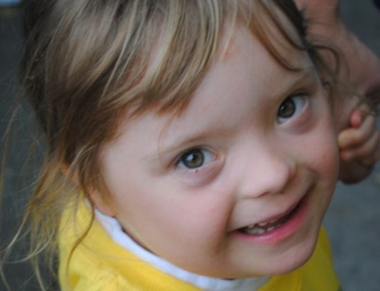 """A Brighter Sunshine: Blog-mom's journal about her """"little sunshine"""" girl with DS"""