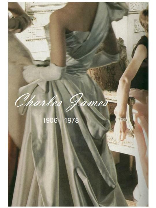 Charles James exhibit at the Met this summer!