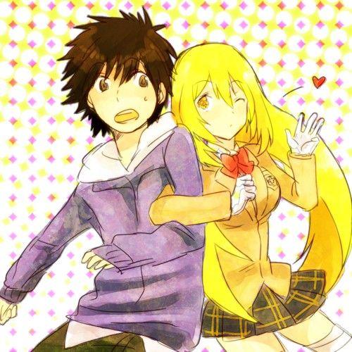 Touma And Misaki A Certain Magical Index A Certain Magical Index