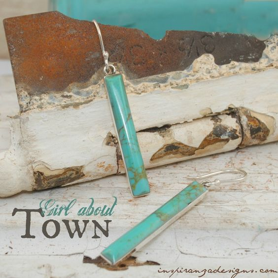 Girl About Town Earrings - Inspiranza Designs
