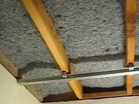 How To Install Silent Floor Upgrade British Gypsum Youtube In 2020 Sound Proofing Sound Proofing Ceiling Soundproof Room