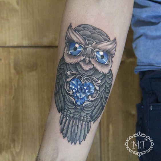 Owl tattoo by Melek Taştekin #tattoo #tattoos #tattooed #tattooist #tattooing #tattooer #tats #tatu #dovme #ink #inked #owltattoo #owl #diamondtattoo #instatattoo #melektastekin #baykuşdövmesi #colortattoo #fkirons #tattooartist #tattooart #art #artwork #ankara #oldschooltattoo #intenzeink #tattoolovers #tattoomagazine