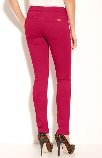 Joe's Skinny Stretch Denim Jeans (Cerise Magenta Wash) | Nordstrom - StyleSays