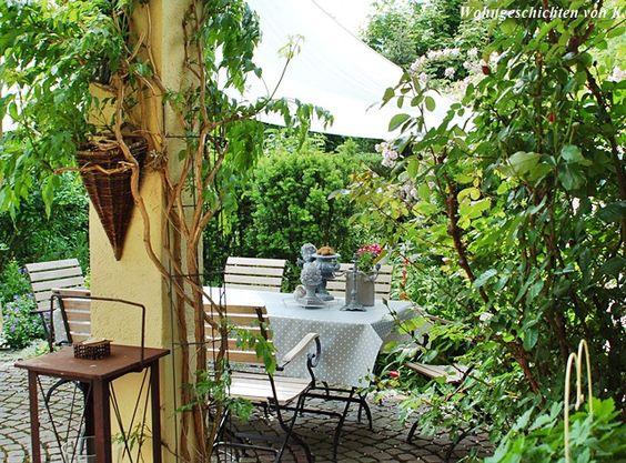 Wohngeschichten von K. ~ Im Garten ~