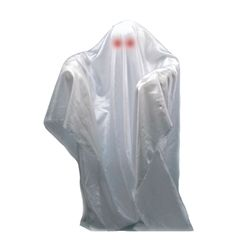 animated hovering ghost raises up 3 ft tall this spooky ghost rises over 3 - Animated Halloween Figures