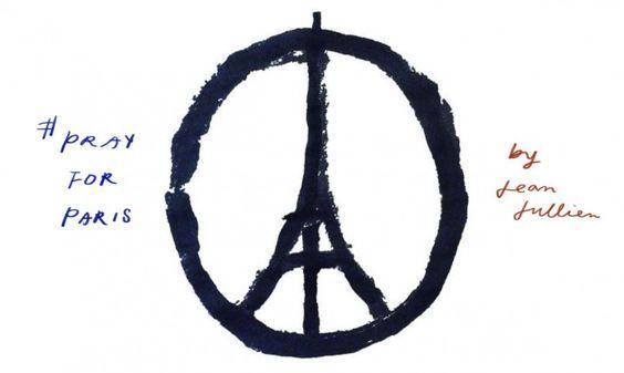 Pray for Paris:轉發這個圖像的同時,你知道它的設計師和背後的小故事嗎? 1